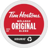 Dosettes K-Cup de café Tim Hortons, mélange original, boîte de 24