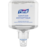 Purell Healthcare Advanced Hand Sanitizer Gentle & Free Foam, 70% Alcohol Content, For ES4 Dispensers, 1,200 mL, 2/CT