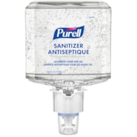 Purell Professional Advanced Hand Sanitizer Fragrance-Free Gel, For ES6 Dispensers, 1,200 mL, 2/CT