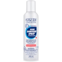 zytec Germ Buster Hand Sanitizer Spray, 80% Alcohol Content, 250 mL