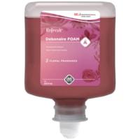 Nettoyant moussant pour la peau Debonaire SC Johnson Professional, parfum floral, cartouches de 1 l, caisse de 8