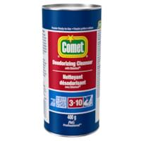 Nettoyant désodorisant en poudre avec Chlorinol Comet, 400 g