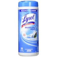 Lysol Disinfecting Wipes, Spring Waterfall Scent, 35/PK