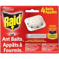 Appâts à fourmis Raid, emb. de 4