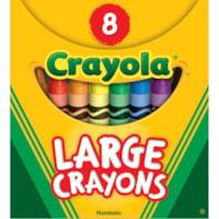 Crayola Large Crayons, 8-Pack