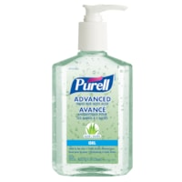 Purell Advanced Gel Hand Sanitizer with Aloe, 62% Alcohol Content, 236 mL