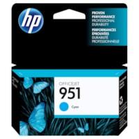 HP 951 Cyan Original Ink Cartridge (CN050AN)