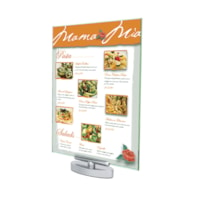 Grand & Toy Sign Holder, Clear, Letter-Size