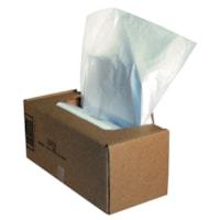 Sacs pour déchiqueteuses Powershred Fellowes 325 et 425, transparent, boîte de 50