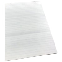 Edge Experience Flip Chart Pads, Ruled, White, 22