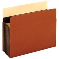 Pochette robuste extension 5 1/4 po à soufflets indéchirables renforcés de Tyvek Pendaflex, Pour documents de format lettre