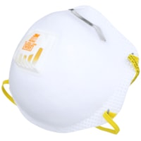 3M 8511 N95 Cool Flow Sanding and Fibreglass Disposable Respirator, Valved, White, 1/PK