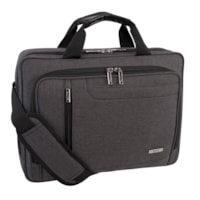 Roots Laptop Case, RFID Pocket, Grey, Fits Laptops up to 15.6