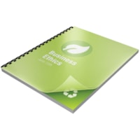 Swingline GBC Recycled Poly Presentation Binding Frost Covers