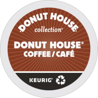 Donut House K-Cup Pods, 24/BX