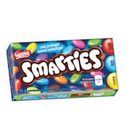 Chocolats enrobés de bonbons Smarties Nestlé, 45 g, boîte de 24