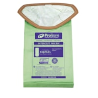 ProTeam 107314 Intercept Micro Filter Vacuum Bags, 6.6 L, 10/PK