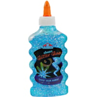 Elmer's Liquid Glitter Glue, Blue, 177 mL