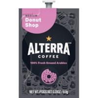 Flavia Alterra Single-Serve Blend Coffee Freshpacks, Donut Shop, Medium Roast, 100/CT