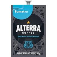 Flavia Alterra Single-Serve Coffee Freshpacks, Sumatra, Dark Roast, 100/CT