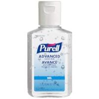 Purell Advanced Gel Hand Sanitizer, 70% Alcohol Content, 59 mL, 24/CS
