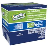 Recharges de linges secs Professional Swiffer, boîte de 32
