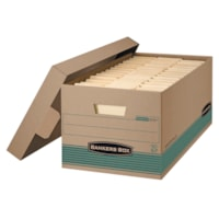 Bankers Box Extra-Strength Recycled Stor/File Storage Box, Letter-size (8 1/2
