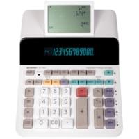 Sharp Large Display 12-Digit Paperless Printing Calculator