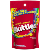 Skittles Chewy Candy Mega Pack, Original Flavour, 320 g, Bowl Size