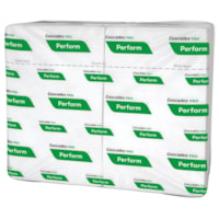 Cascades PRO Perform 1-Ply Interfold Napkins for Tandem Dispenser, White, 376 Sheets/PK, 16/CS