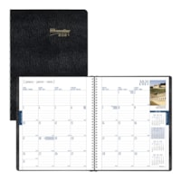 Brownline 14-Month Monthly International Planner, 11