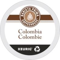 Barista Prima Coffeehouse Single-Serve Coffee K-Cup Pods, Medium Dark Colombia, 24/BX