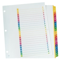 Cardinal One Step Table of Contents Dividers