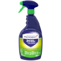 Microban 24 Hour Multi-Purpose Cleaner and Disinfectant Spray, Fresh Scent, 946 mL