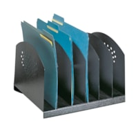 Safco 6-Section Steel Desk Organizer