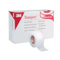 3M Transpore Plastic Hypoallergenic Surgical Tape
