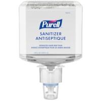 Mousse douce et libre antiseptique pour les mains pour milieu de santé Avancé Purell, 70 % d'alcool, pour distributeurs ES6, 1 200 ml, caisse de 2