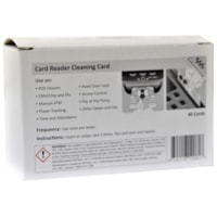 Northern Specialty Supplies ATM/POS Smart Card Reader Cleaning Cards, 40/BX