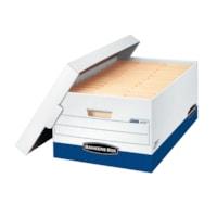 Boîte de rangement robuste à assemblage instantané Presto Bankers Box, format légal (8 1/2 po x 14 po)