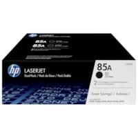 HP 85A Black Standard Yield Toner Cartridges, 2/PK (CE285D)