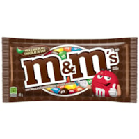 M&M's Milk Chocolate Candy Pieces, 48 g, 24/BX