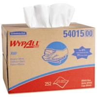 Essuie-tout X60 WypAll, boîte distributrice, 225 feuilles, blanc