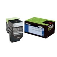 Lexmark 801K Black Standard Yield Return Program Toner Cartridge (80C10K0)