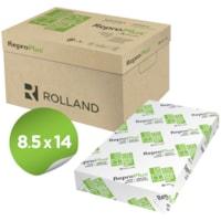Papier recyclé ReproPlus Rolland, blanc, format légal, rame