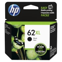 HP 62XL Black High Yield Ink Cartridge (C2P05AN)