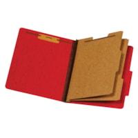 Chemise de couleur rouge format légal (8 1/2 po x 14 po) à intercalaires Pendaflex