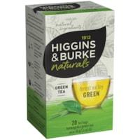 Higgins & Burke Naturals Forest Valley Green Tea, 20/Bx