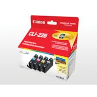 Cartouches à jet d'encre à rendement standard Canon 226 (4546B008), noir, cyan, magenta, jaune, emb. de 4