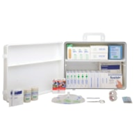 St. John Ambulance Alberta #3 Workplace First Aid Kit with Plastic Cabinet, 50-99 Employees