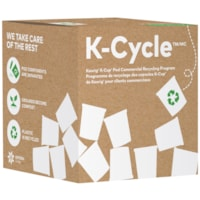 Keurig K-Cycle K-Cup Pod Commercial Recycling Program Box, Small, 175 K-Cup Capacity